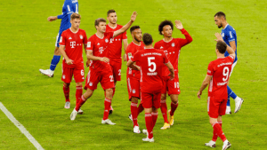 Bayern Munich scored 8 goals against Schalke!