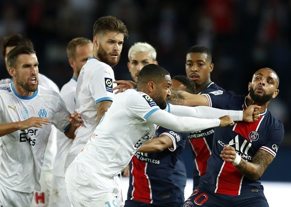PSG's three red cards led them to their 2nd defeat in the Ligue 1!