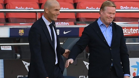 Koeman is not doing the same mistake as Zidane!