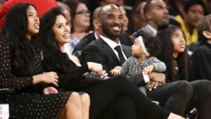 Kobe Bryant family when did he retire