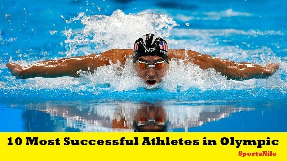 Top 10 Most Successful Athletes in Olympic History [Updated List]